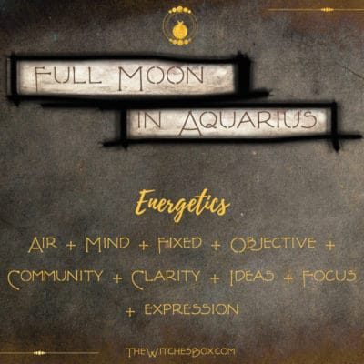 Full Moon In Aquarius With Partial Eclipse August 7, 2017
