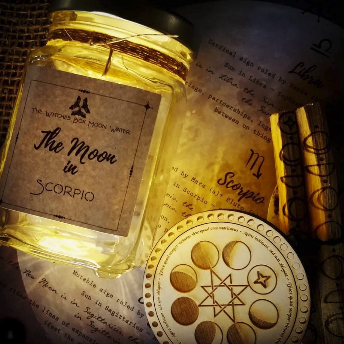Working With The Magick Of Moon Water - The Witches Box