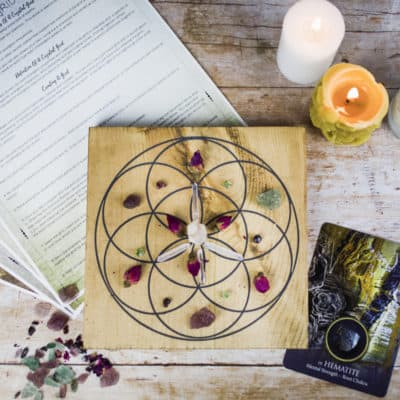 The February 2018 Crystal Grid Box