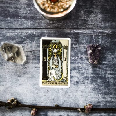 Learn Tarot: The High Priestess