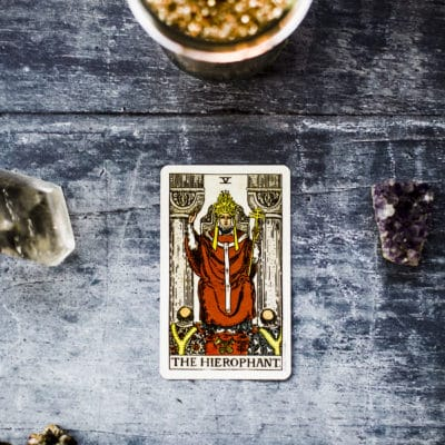 Learning Tarot:  The Hierophant