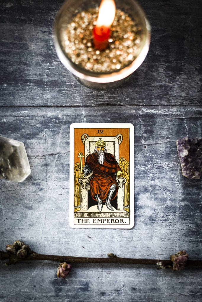 Learning Tarot: The Emperor - The Witches Box