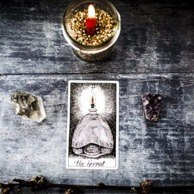 Learn Tarot: The Hermit Tarot Card