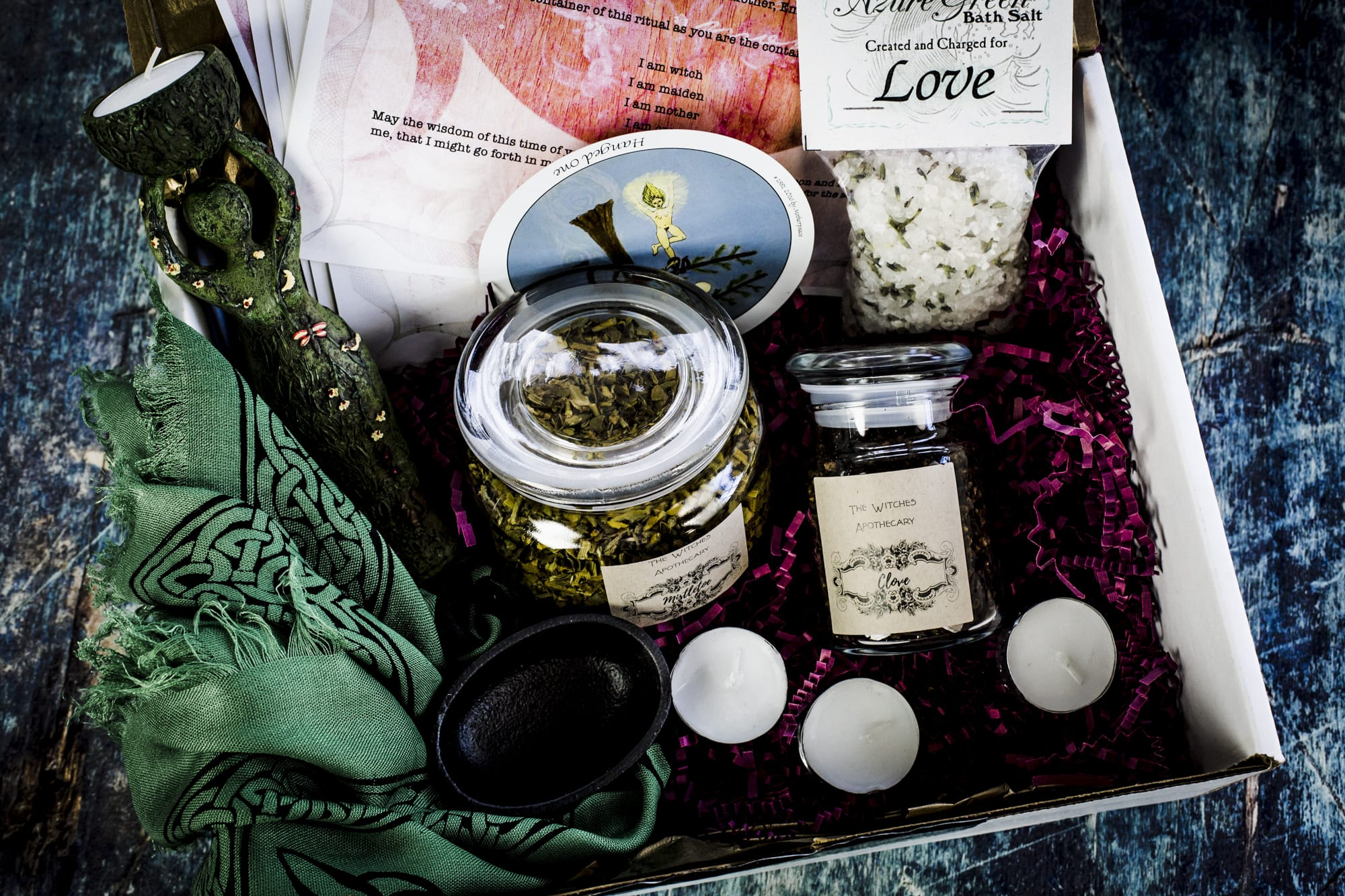 The June 2018 Witches Box: Summer Solstice Mother Goddess Box - The