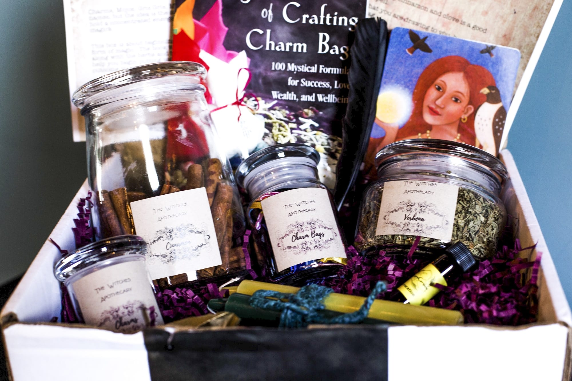 The July 2018 Witches Box: Charm Bag Magick - The Witches Box