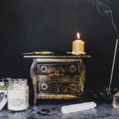 The August 2018 Witches Box: Pentacle Box