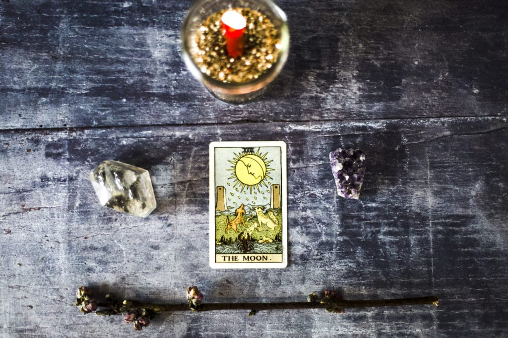 Learn Tarot: The Moon Tarot Card - The Witches Box