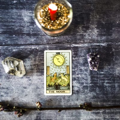Learn Tarot: The Moon Tarot Card