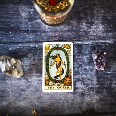 Learn Tarot: The World Tarot Card
