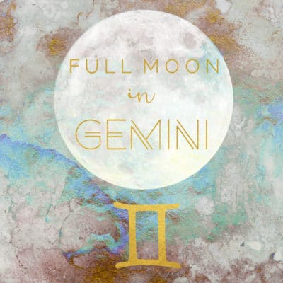 Full Moon In Gemini, November 22nd/23rd, 2018