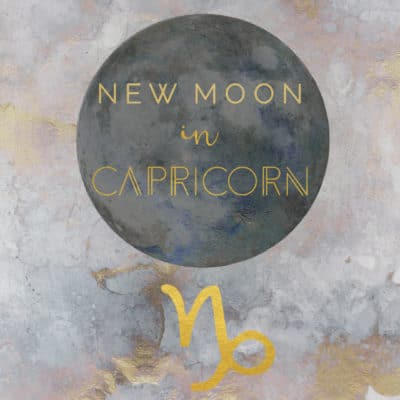 New Moon/Solar Eclipse in Capricorn, January 5, 2019