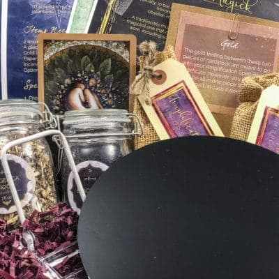 The April 2019 Mirror Magick Witches Box