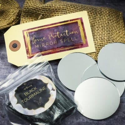 Home Mirror Protection Spell