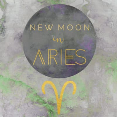New Moon in Aries, April 5th 2019
