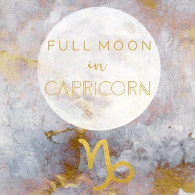 Lunar Eclipse And Full Moon In Capricorn, July 16th 2019
