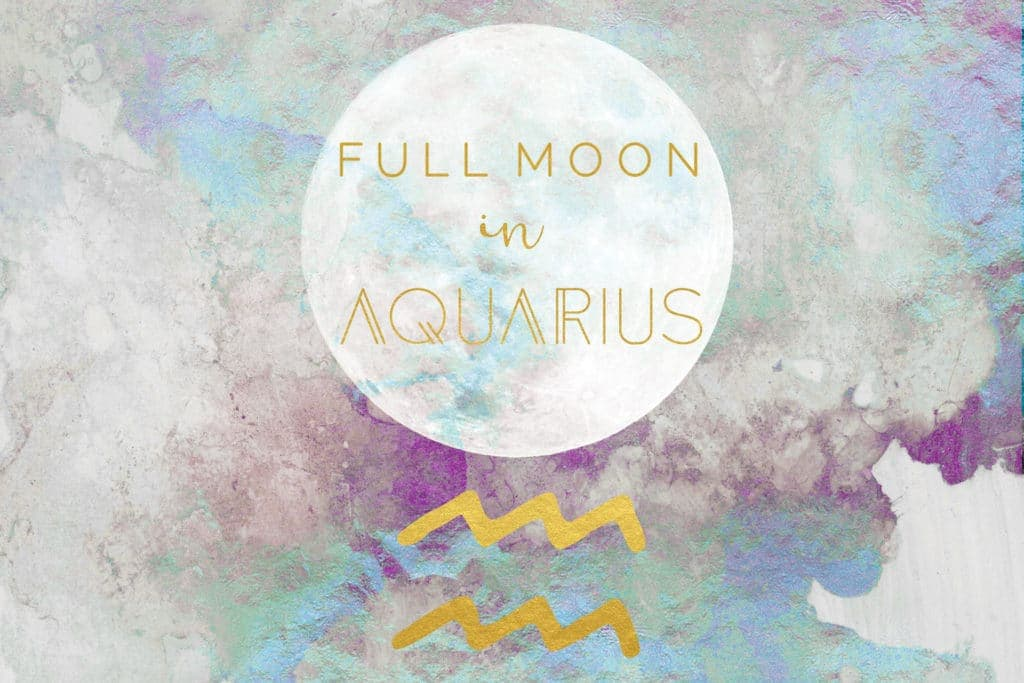 Full Moon In Aquarius, August 15, 2019 - The Witches Box