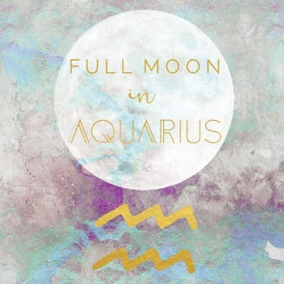 Full Moon In Aquarius, August 15, 2019