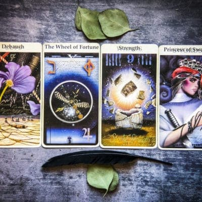 Inner Revealings Tarot:  August 18, 2019