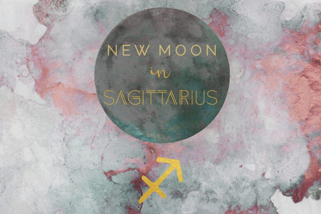 New Moon in Sagittarius