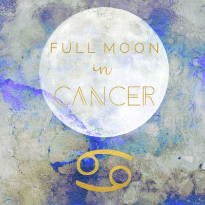 Full Moon + Penumbral Lunar Eclipse In Cancer, January 10th, 2020